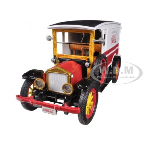 "1920 White Delivery Van ""Coca Cola"" 1/32 Diecast Car Model by Motorcity Classics"