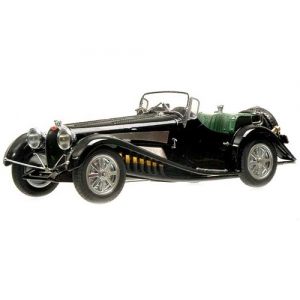 1931 Bugatti Type 54 Roadster Black Mullin Collection 1/18 Model Car by Minichamps