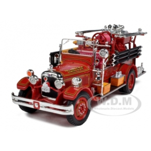 1931 Seagrave Fire Engine Red 1/32 Diecast Model Car by Signature Models