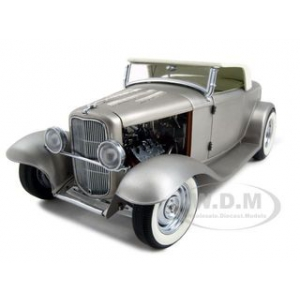 1932 Ford Deuce Roadster Real Steel Release 3 Hot Rodders Journal 1 of 750 Made 1/18 Diecast Model Car by GMP