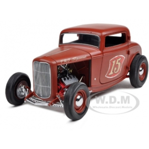 1932 Ford Deuce TRJ Special Rodders Journal 1 of 2000 Produced Worldwide 1/18 Diecast Model Car by GMP
