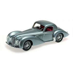 1937 Delahaye Type 145 V-12 Coupe Grey Limited to 1002pc 1/18 Model Car by Minichamps