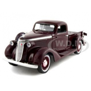 1937 Studebaker Pickup Express Burgundy 1/32 Diecast Model Car by Signature Models