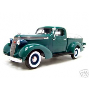 1937 Studebaker Pickup Express Green 1/18 Diecast Model Car by Road Signature
