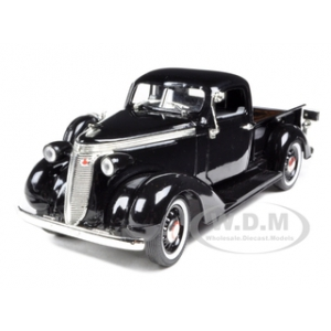 1937 Studebaker Pickup Truck Black 1/32 Diecast Model Car by Signature Models
