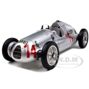 1938 Auto Union Type D 14 Georg -Schorsch- Meier GP France 1939 1 of 1500 Produced 1/18 Diecast Model Car by CMC