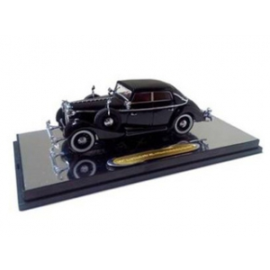 1938 Maybach SW38 Spohn 4 Doors Black Convertible 1/43 Diecast Car Model by Signature Models