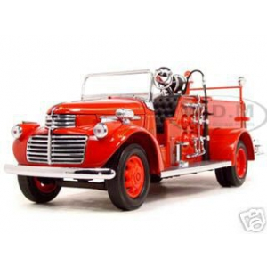 1941 GMC Fire Engine Red 1/24 Diecast Model Car by Road Signature