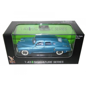 1948 Tucker Blue Signature Series 1/43 Diecast Model Car by Road Signature