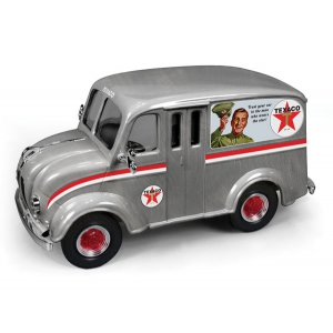 "1950 Divco Delivery Truck ""Texaco"" 2014 Brushed Metal Special Edition Series 31 1/25 Diecast Model Car by Autoworld"
