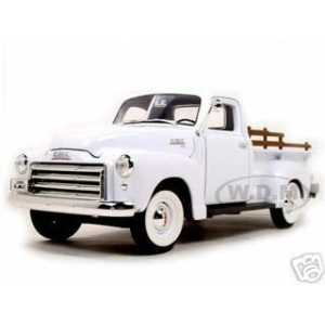 1950 GMC Pickup White 1/18 Diecast Model by Road Signature