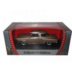 1950 Studebaker Champion Golden Tan 1/43 Diecast Car Model by Road Signature