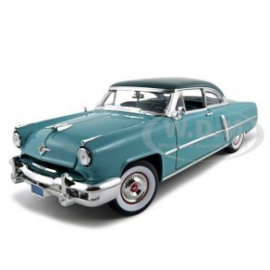 1952 Lincoln Capri Green 1/18 Diecast Model Car by Road Signature