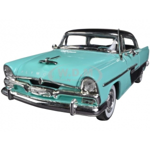 1956 Plymouth Savoy Blue 1/32 Diecast Car Model by Signature Models