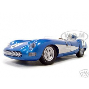 1957 Chevrolet Corvette SS Diecast Model Blue 1/18 Die Cast Car By Autoart