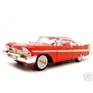 1958 Plymouth Fury Red 1/18 Diecast Model Car by Motormax