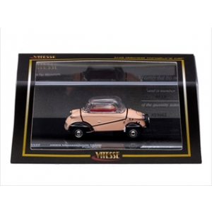 1960 Messerschmitt Tiger TG500 Pink Limited Edition 1 of 1268 Produced Worldwide 1/43 Diecast Model by Vitesse
