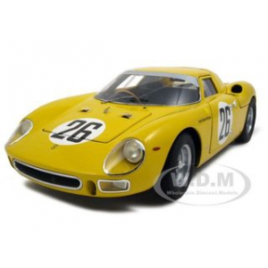1965 Ferrari 250 LM 26 Elite Edition Team Georges Marquet Dumay/Gosselin 1/18 Diecast Car Model by Hotwheels
