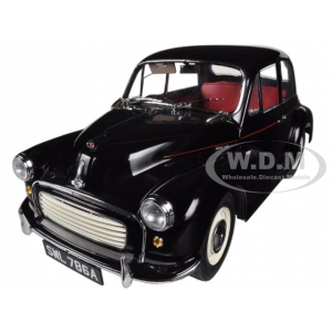 1965 Morris Minor 1000 Saloon Black 1/12 Diecast Car Model by Sunstar
