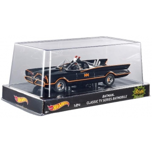 1966 TV Series Batmobile 1/24 Diecast Car Model by Hotwheels