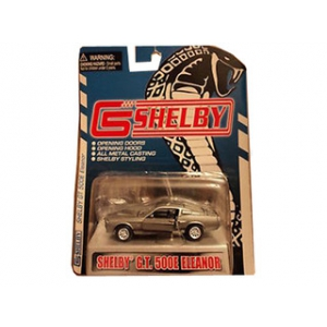 1967 Ford Shelby Mustang GT500E Eleanor Grey 1/64 Diecast Model Car by Shelby Collectibles