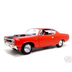 1970 AMC Rebel Red 1/18 Diecast Model Car by Road Signature
