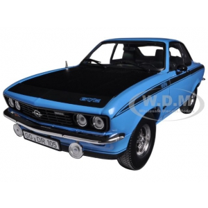1975 Opel Manta GT/E Blue 1/18 Diecast Car Model by Norev