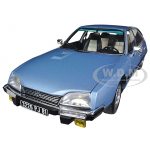 1977 Citroen CX 2400 GT Blue 1/18 Diecast Car Model by Norev