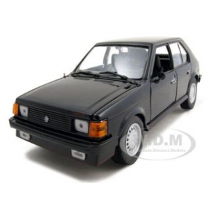 1985 Dodge Omni GLH Black 1/24 Diecast Model Car by Motormax