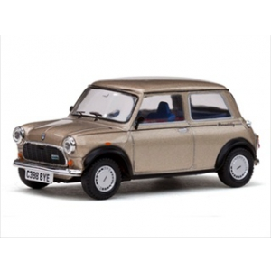 "1986 Mini Cooper ""Piccadilly"" Cahsmere Gold Metallic Limited Edition 1 of 1080 Produced Worldwide 1/43 Diecast Model Car by Vitesse"