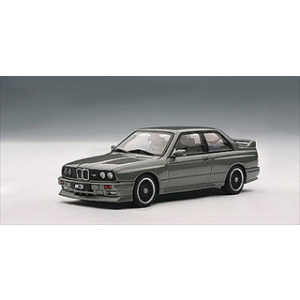 "1989 BMW M3 Evolution ""Cecotto"" Grey 1/43 Diecast Car Model by Autoart"