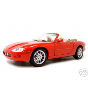 1998 Jaguar XKR Convertible Red 1/18 Diecast Model Car by Maisto