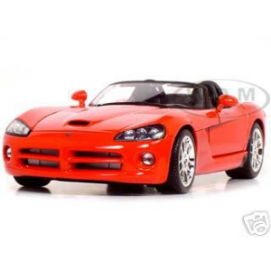 2003 Dodge Viper SRT-10 Red 1/18 Diecast Model Car by Maisto