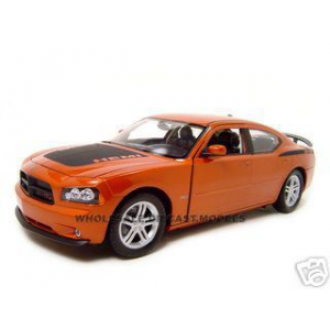 2006 Dodge Charger Daytona R/T Copper 1/18 Diecast Model Car by Welly