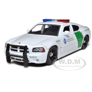 2006 Dodge Charger R/T Border Patrol Car 1/24 Diecast Model by Jada