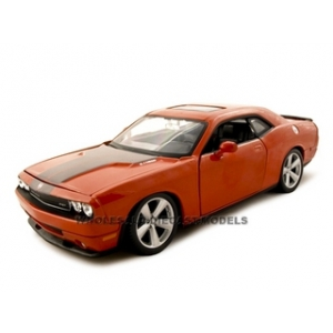 2008 Dodge Challenger SRT8 Orange 1/24 Diecast Model Car by Maisto