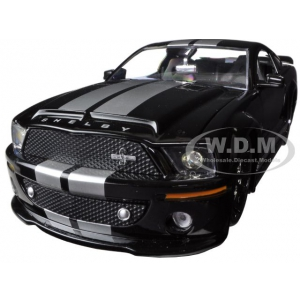 2008 Ford Shelby Mustang GT500 KR Black 1/24 Diecast Car Model by Jada
