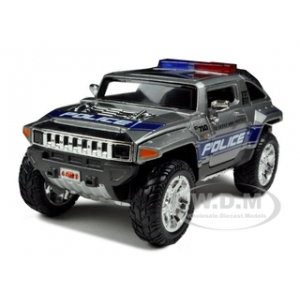 2008 Hummer HX Concept Police 1/24 Diecast Model Car by Maisto