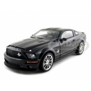 2008 Shelby Mustang GT500KR Black 1/18 Diecast Model Car by Shelby Collectibles