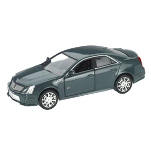 2009 Cadillac CTS-V Supercharged Grey 1/43 Diecast Model Car by Luxury Diecast