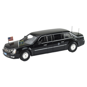 2009 Cadillac DTS Obama Presidential Limo 1/43 Diecast Car Model by Luxury Diecast