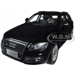 2010 Audi Q5 Black 1/18 Diecast Car Model by Paudi