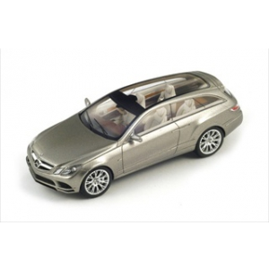 2010 Mercedes Fascination Concept Silver 1/43 Model Car by Spark