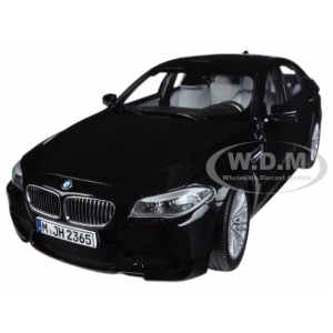 2012 BMW M5 F10 Sapphire Black 1/18 Diecast Car Model by Paragon