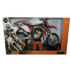 2012 KTM 350 SX-F Dirt Bike Motorcycle Model 1/12 by Automaxx