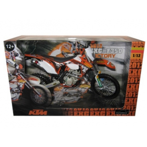 2012 KTM F350 EXC Factory Motorcycle Model 1/12 by Automaxx