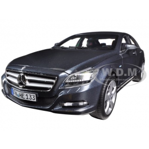 2012 Mercedes CLS 350 Tenorit Grey 1/18 Diecast Car Model by Norev