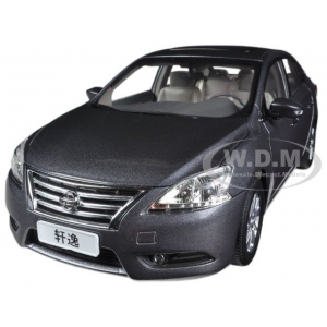 2012 Nissan Sylphy Sentra Grey 1/18 Diecast Car Model by Paudi