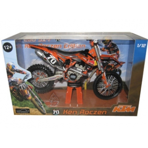 2012 Red Bull KTM 250 SX-F Ken Roczen 70 Dirt Motorcycle Model 1/12 by Automaxx
