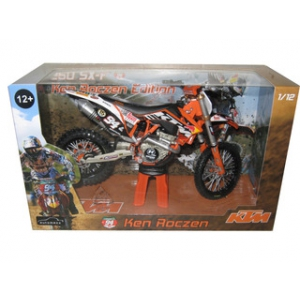 2012 Red Bull KTM 250 SX-F Ken Roczen 94 Dirt Motorcycle Model 1/12 by Automaxx